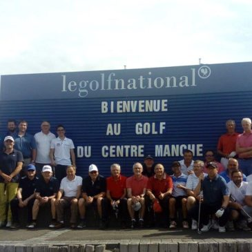 Sortie au Golf National