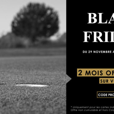 OFFRE PROMO GOLFY – BLACK FRIDAY
