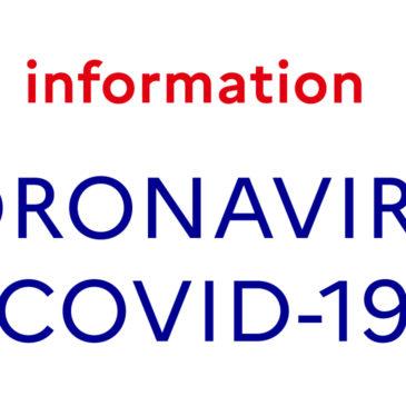 FERMETURE CORONAVIRUS