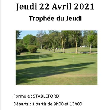 Trophée du Jeudi 22 Avril