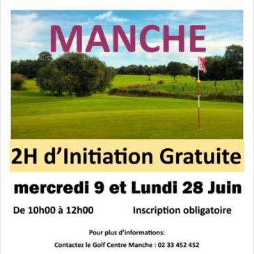 Initiation gratuite mercredi 9 et lundi 28 Juin